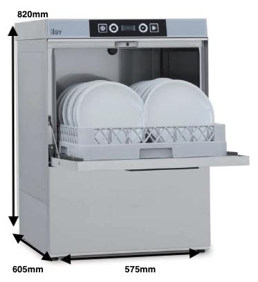 COLGED ISYTECH 36-10 D con dosificador de detergente