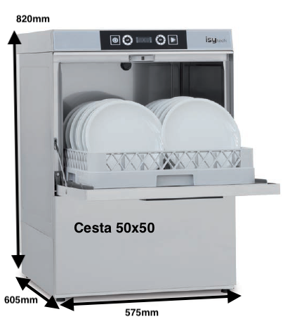 COLGED ISYTECH 36-11 D con dosificador de detergente + bomba desague
