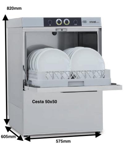 COLGED STELTECH 36-00 MD con dosificador de detergente