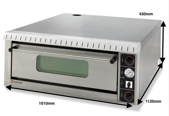 Horno pizza Sammic Mod.PL-4