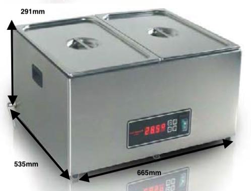 Cocedor Romagsa Vac-star Mod.CSC-43