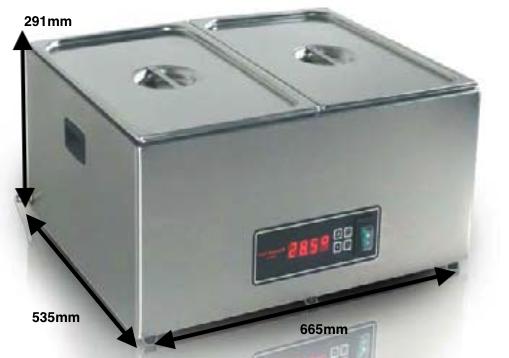Cocedor Romagsa Vac-star mod.CSC-58