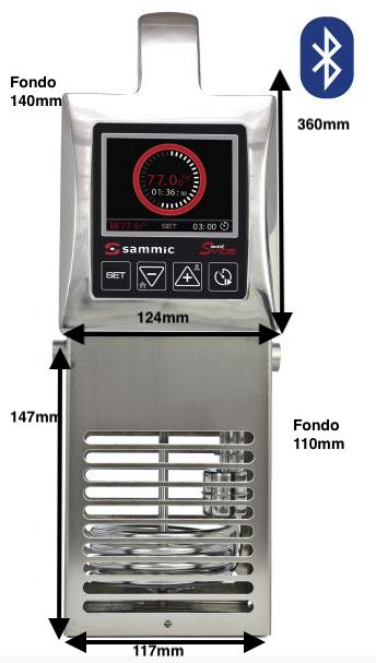 Cocedor Sammic Sous-Vide SmartVide 8 Plus