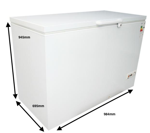 Arcón congelador GRAN CAPACIDAD PECOMARK 300