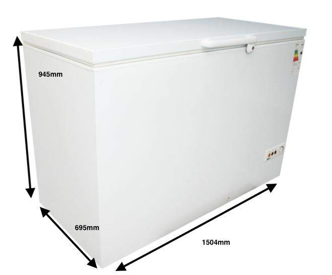 Arcon congelador GRAN CAPACIDAD PECOMARK 500