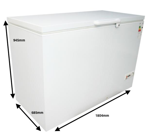 Arcon congelador GRAN CAPACIDAD PECOMARK 600