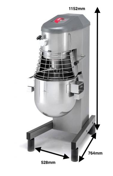 Batidora planetaria Sammic Mod.BE-30