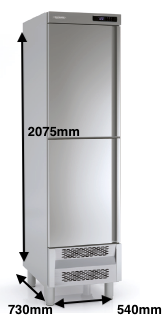 Armario vertical congelación DOCRILUC Mod ARC-55-2