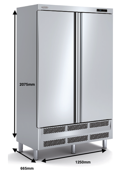 Armario vertical congelación DOCRILUC Mod ARC-125-2