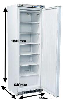 Armario vertical congelación EUROFRED Modelo RN400