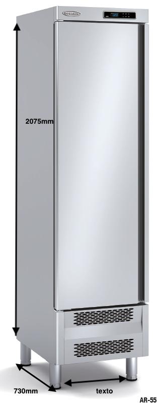 Armario vertical conservación DOCRILUC Mod AR-55-1