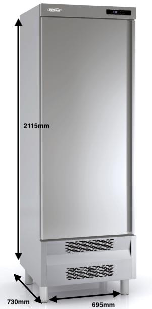 Armario vertical conservación DOCRILUC Mod ARS-75-1