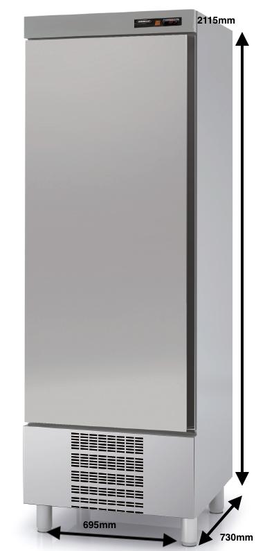 Armario vertical conservación DOCRILUC Mod.ASD-75 SPEED