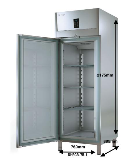 Armario vertical conservación DOCRILUC Mod DHEGR-75-1