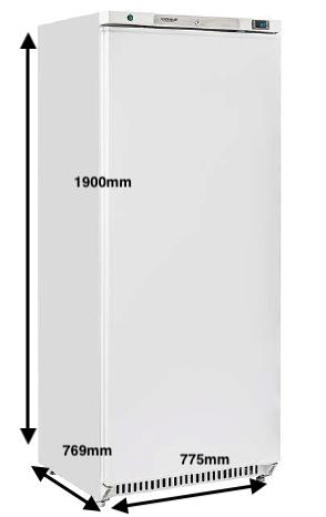 Armario vertical conservación EUROFRED Modelo CR6