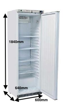 Armario vertical conservación EUROFRED Modelo RC400