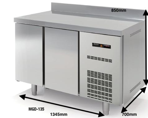 Bajo mostrador Conservación DOCRILUC Mod.MGD-135 SPEED