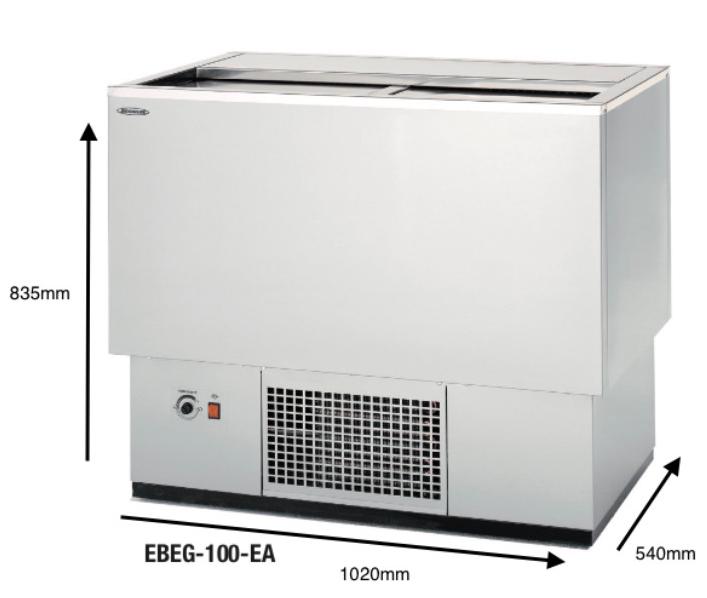 Botellero DOCRILUC Modelo EBEG-100-EA