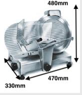Cortadora de fiambre ROMAGSA Mod.DOLLY-300 V