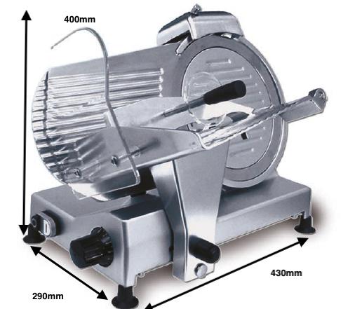 Cortadora de fiambre ROMAGSA Mod.SXE-220