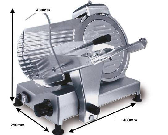 Cortadora de fiambre ROMAGSA Mod.SXE-250