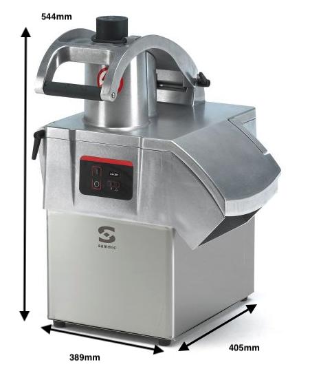 Cortadora de hortalizas SAMMIC CA-301 230-400/50/3N