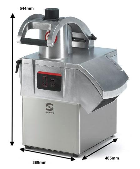 Cortadora de hortalizas SAMMIC CA-301 230/50/1