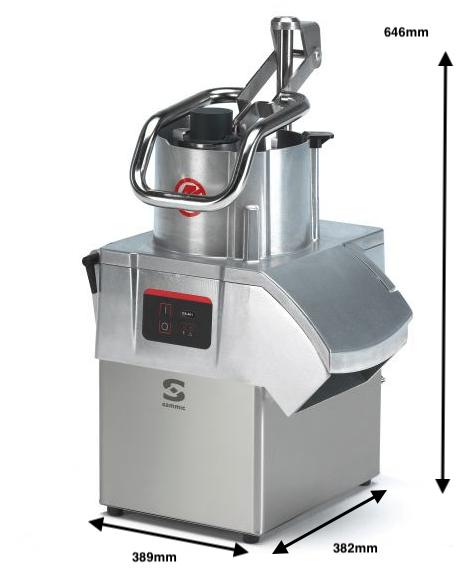 Cortadora de hortalizas SAMMIC CA-401 230/50/1