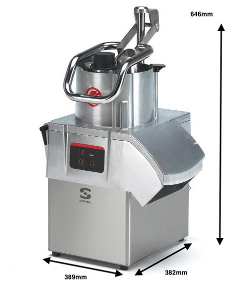 Cortadora de hortalizas Sammic CA-401 230-400/50/3N
