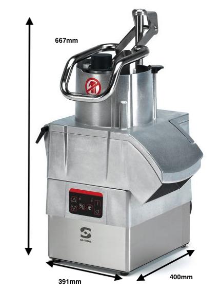Cortadora de hortalizas SAMMIC CA-401VV 230/50-60/1
