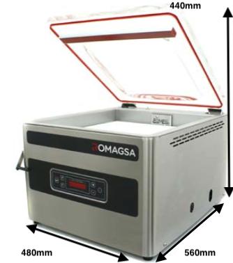 envasadora al vacío ROMAGSA V10 S