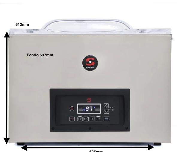Envasadora al vacío SAMMIC SE-520 230/50-60/1