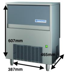 Cubitera EUROFRED Modelo CM28