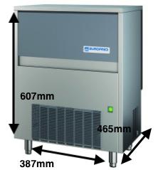 Cubitera EUROFRED Modelo CP28