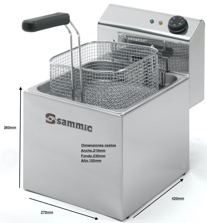 Freidora electrica SAMMIC F 8