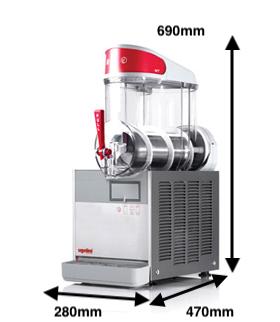 Granizadora UGOLINI Modelo MT 1 B