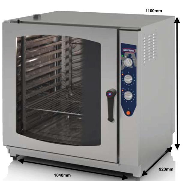 Horno a gas Inoxtrend Mod.CUA-211 G