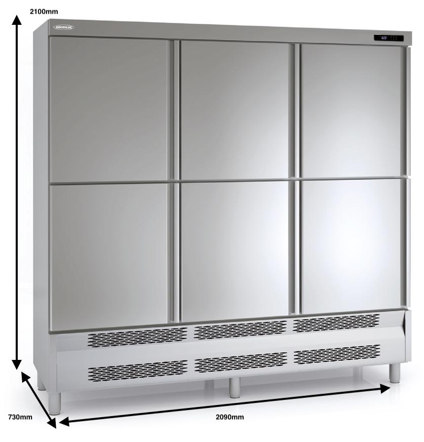 Armario vertical conservación DOCRILUC Mod ARS-210-6