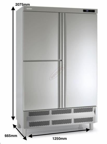 Armario vertical congelación DOCRILUC Mod ARC-125-3