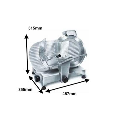 Cortadora de fiambre ROMAGSA Mod.KELLY-350 V