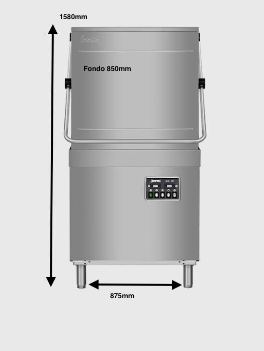Lavavajillas cúpula Jemi Mod.GS-85M