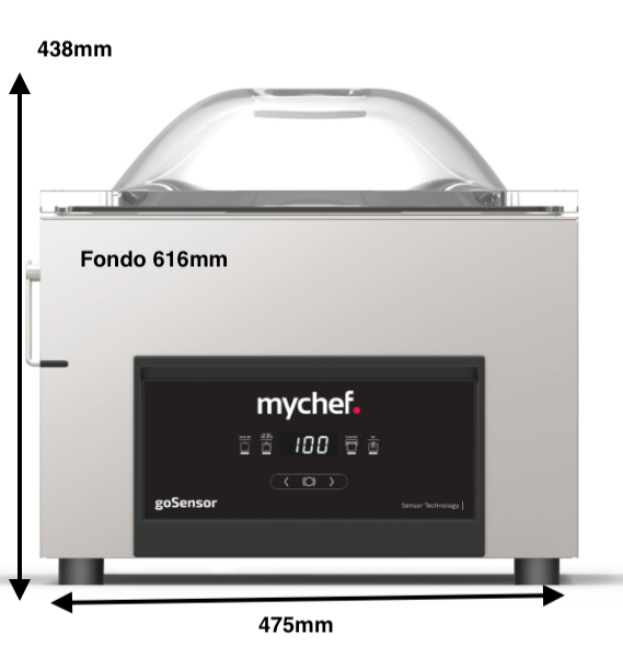 Envasadora MyChef Isensor Modelo M 16
