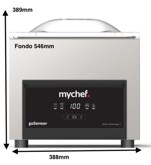 Envasadora MyChef Isensor Modelo S 8