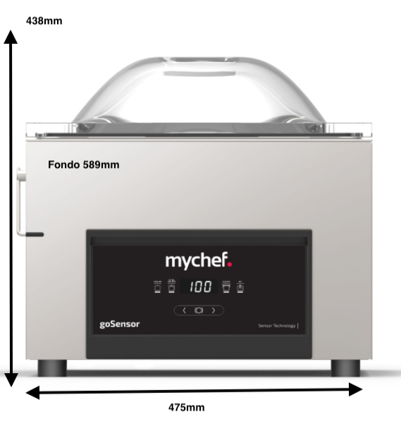 Envasadora MyChef GoSensor M16
